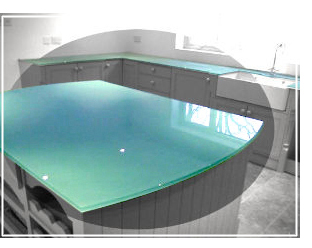 Glass Splashbacks And Glass Worktops For Kitchens And